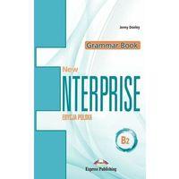 Książki do nauki języka, New Enterprise B2 Grammar Book + DigiBook PL - Jenny Dooley (opr. broszurowa)