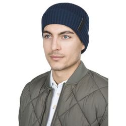 Calvin Klein OCTAVE HAT Czapka blue night