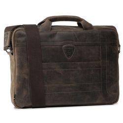 Torba na laptopa STRELLSON - Hunter 4010002639 Dark Brown 702