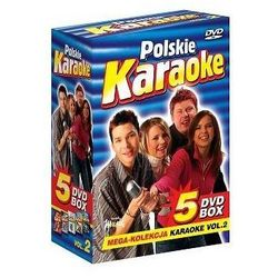 Polskie Karaoke VOL. 2 - Mega Kolekcja Karaoke (5 płyt DVD)