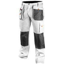 NEO 81-120-M Spodnie robocze, białe, rozmiar M/50