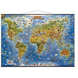 Świat mapa dla dzieci