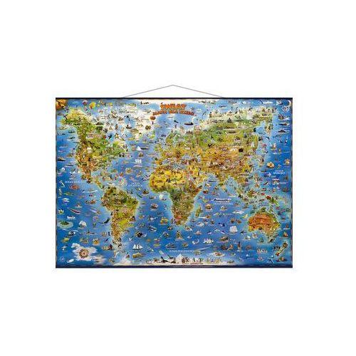 Pozostałe książki, Świat mapa dla dzieci