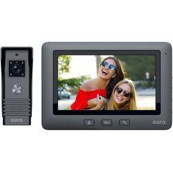 Wideodomofon EURA VDP-45A3 ALPHA czarny kolor monitor 7'' obsługa 1 wejścia