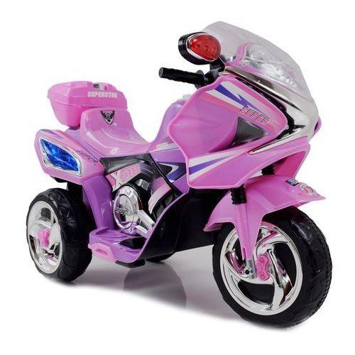 Akumulatory do motocykli, MOTOR ŚCIGACZ SUPERSTAR NEW DESIGN, DŹWIĘKI, ŚWIATŁA/WXE358D