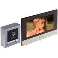 Domofony i wideodomofony, ZESTAW WIDEODOMOFONOWY DS-KIS602 Hikvision