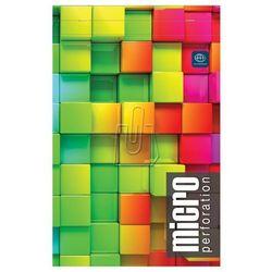 Blok biurowy z mikroperforcją A5+/80 kartek w kratkę