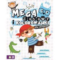 Kolorowanki, Megazabawy i kolorowanki dla chłopców - Opracowanie zbiorowe