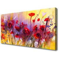 Obrazy, Obraz na Płótnie Kwiaty Roślina Natura Sztuka