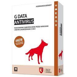 Gdata AntiVirus 2 stanowiska 1 rok UPGRADE BOX (082194) Darmowy odbiór w 21 miastach!