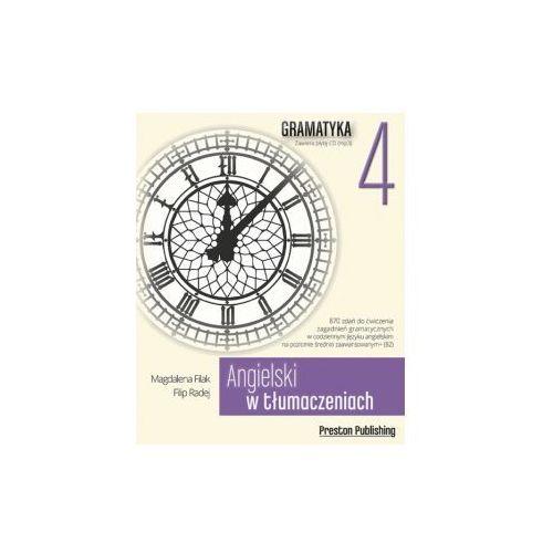 Książki do nauki języka, Angielski w tłumaczeniach Gramatyka 4 z płytą CD (opr. miękka)