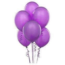 Balony lateksowe pastelowe fioletowe - 11 cali - 100 szt.