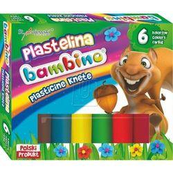 Plastelina St.Majewski Bambino 6kol. 01727