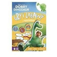 Książki dla dzieci, Dobry dinozaur gry i zabawy z wypychankami. disney (opr. miękka)