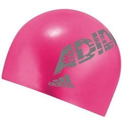 ADIDAS JUNIOR CZEPEK SILIKONOWY PŁYWACKI FUCHSIA SILICONE SWIMMING CAP YOUTH
