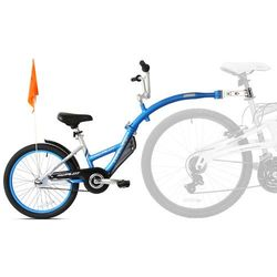 Przyczepka rowerowa WEERIDE Pro-Pilot Niebieski