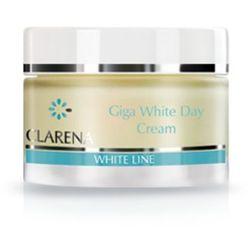 Clarena GIGA WHITE DAY CREAM Wybielająco-ochronny krem na dzień (1856)