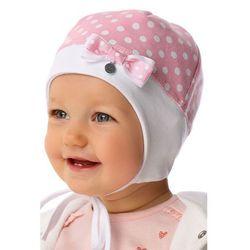 Czapka niemowlęca wiązana 5X34AS Oferta ważna tylko do 2019-07-30