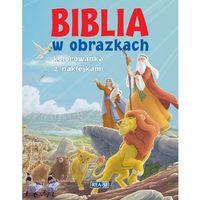 Książki dla dzieci, Biblia w obrazkach REA (opr. broszurowa)
