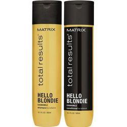 Matrix Total Results Hello Blondie Zestaw do włosów blond | szampon 300ml + odżywka 300ml
