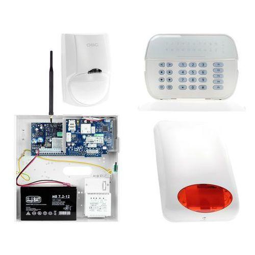 Zestawy alarmowe, Zestaw alarmowy DSC 1x Czujnik ruchu Manipulator LED Powiadomienie, Sterowanie, Konfiguracja GSM