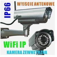 Kamery monitoringowe, Kamera Zewnętrzna IP/WIFI (zasięg cały świat!!), Dzienno-Nocna + Możliwość Zapisu itd.