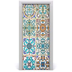 Naklejka fototapeta na drzwi Ceramiczne płytki