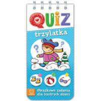 Literatura młodzieżowa, Quiz trzylatka. obrazkowe zadania dla bystrych dzieci - praca zbiorowa