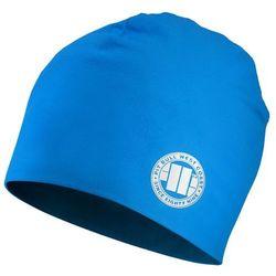Czapka Pit Bull Beanie SMALL LOGO Niebieska - Niebieski