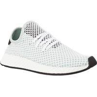 Damskie obuwie sportowe, Adidas DEERUPT RUNNER W ASH GREEN ASH GREEN CORE BLACK - Buty Damskie Sneakersy - Multicolor