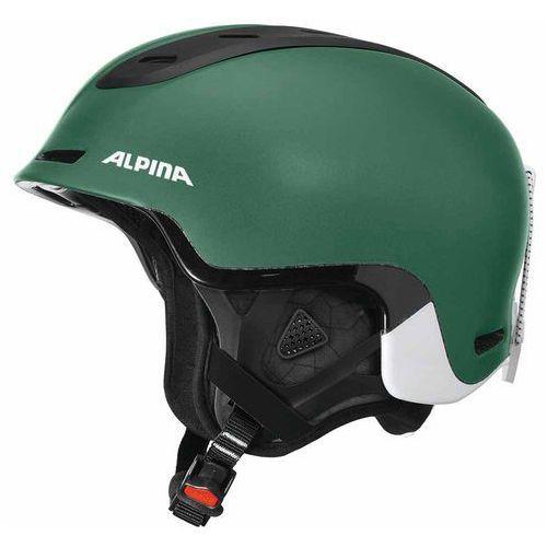Kaski i gogle, ALPINA SPINE - kask narciarski, snowboardowy R. 52-56 cm - 60%