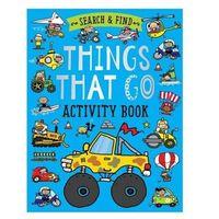 Książki do nauki języka, Search and Find Things That ćwiczenia dla dzieci