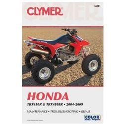 Clymer Manuals Honda TRX450R and TRX450ER 2004-2009 M201