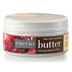 Cuccio POMEGRANATE & FIG BUTTER Nawilżające masło do dłoni, stóp i ciała (granat i figa)