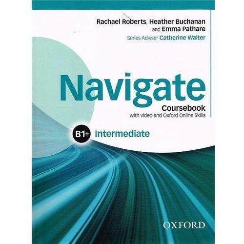 Książki do nauki języka, Navigate Intermediate B1+ Coursebook with DVD... (opr. broszurowa)