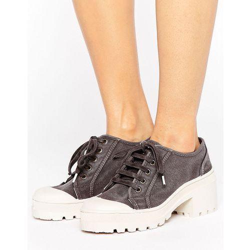 Pozostałe obuwie damskie, Park Lane Chunky Sole Shoe - Black