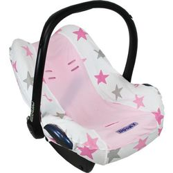 Pokrowiec do fotelika Dooky Seat Cover - Pink Stars T-XP-126815