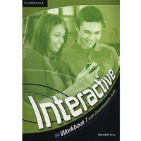 Książki do nauki języka, Interactive 1 Workbook (zeszyt ćwiczeń) with downloadable audio (lp) (opr. miękka)