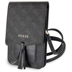 Etui na komórkę Guess 4G Wallet Universal (GUWBSQGBK) Czarne