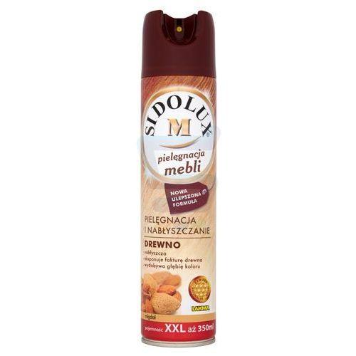 Spraye do czyszczenia mebli, Spray do pielęgnacji mebli Sidolux M Migdał 350 ml