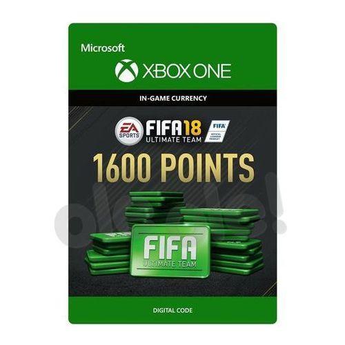 Pozostałe gry i konsole, FIFA 18 1600 Punktów [kod aktywacyjny]