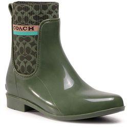 Kalosze COACH - Rivington Rain Booti G5254 10011291 Bronze Green R7H