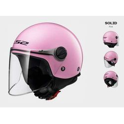KASK LS2 OF575 WUBY JUNIOR PINK