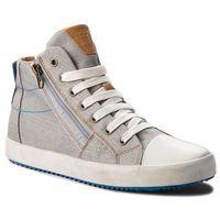 Buty sportowe dla dzieci, Trampki GEOX - J Alonisso B. C J822CC 00010 C0415 D Grey/Lt Blue