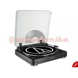 Gramofon Audio-Technica AT-LP60BT czarny