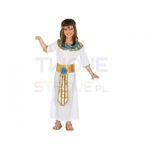 Przebrania dziecięce, STRÓJ SUKIENKA EGIPCJANKA BIAŁA 142-148