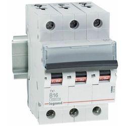 Wyłącznik nadprądowy Legrand 3P B 16A 6kA AC S303 605550/403402