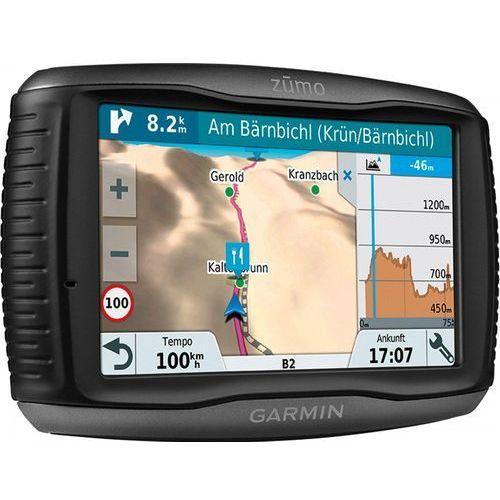 Nawigacja motocyklowa, Nawigacja GARMIN Zumo 595LM Travel Edition