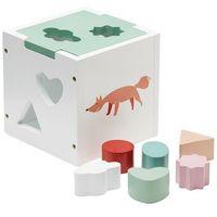 Zabawki z drewna, Sorter Drewniany Kids Concept - Zielony KC412003