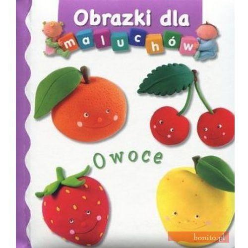 Książki dla dzieci, Owoce. Obrazki dla maluchów (opr. kartonowa)